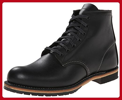"Red Wing Heritage Beckman Round 6"" Boot,Black Featherstone,7.5 D(M) US - Mens world (*Amazon Partner-Link)"
