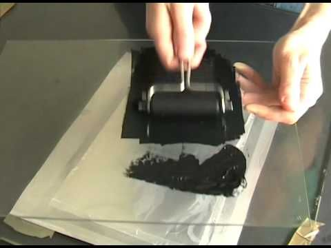 Lithography with household materials (foil, soap, oil, cola)