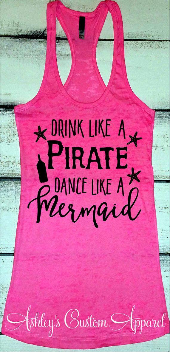 Cruise Shirts Beach Vacation Tank Funny Drinking Shirt