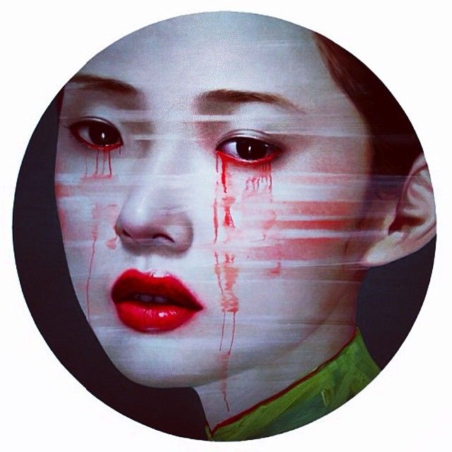 I always love it when I discover an artist whose work excites me and I was previously not aware of . Marie Schuller who is the head of Fashion Film at SHOWstudio showed me the work of Ling Jian this morning . Beautiful . #chineseart  24th March 2014.