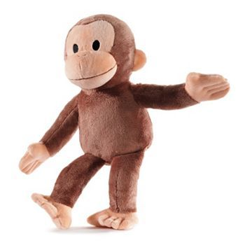 #KohlsCares: Curious George Plush- this is Charlotte's favorite stuffed animal