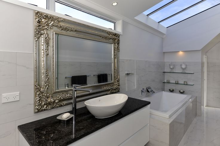 Wonderful to have a roof window over the bath