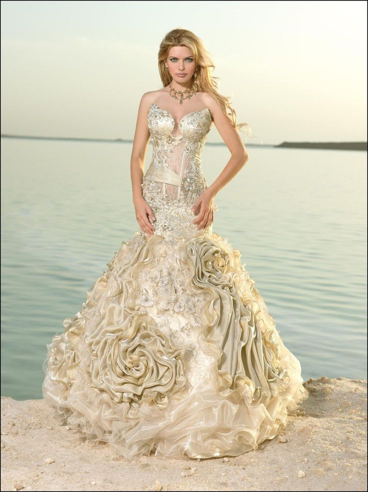 Exotic Wedding Gowns