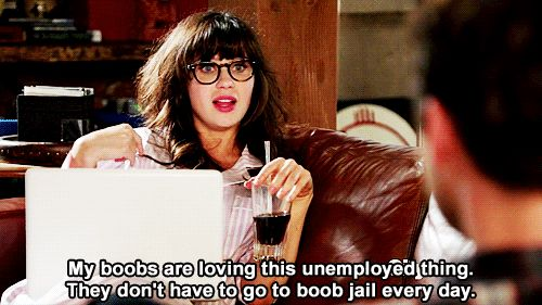 The 27 most relatable Jessica Day quotes..On those days where you don't have to leave the house..hehe love her