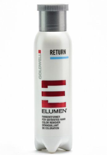 Goldwell Elumen Return 8.4 oz / 250ml gently reduce or remove Elumen hair color  #Goldwell