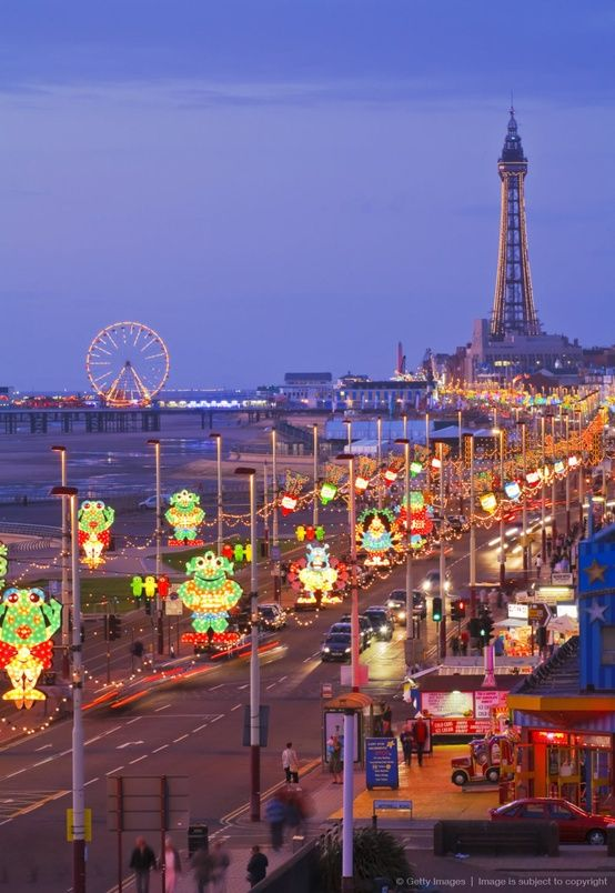 Blackpool, England. Lived and worked here for a year..loved it!