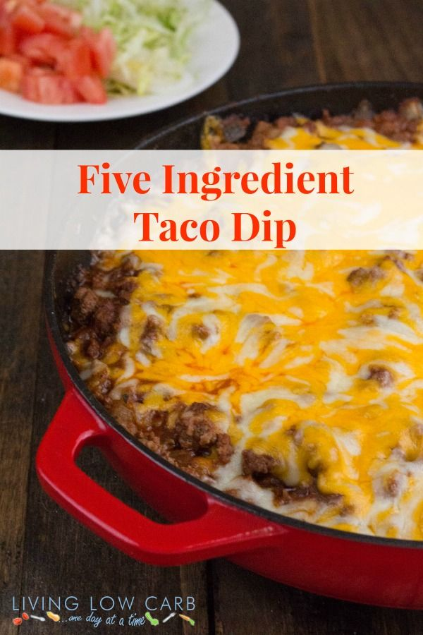 Five Ingredient Taco Dip
