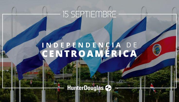Hoy 15 de Septiembre se conmemora el Día de la Independencia de Centroamérica. ¡Muchas felicidades a todos nuestros amigos centroamericanos en este día! #15deSeptiembre #IndependenciaCentroamérica