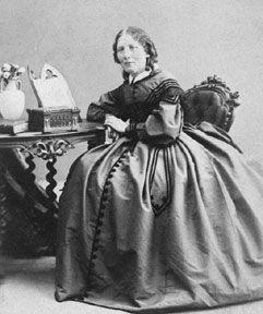 Harriet Beecher Stowe, writer, author Uncle Tom's Cabin.