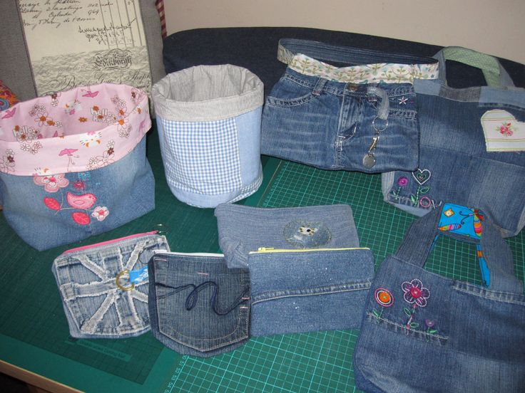 194 best creative clothing upcycling jeans denim for Denim craft projects