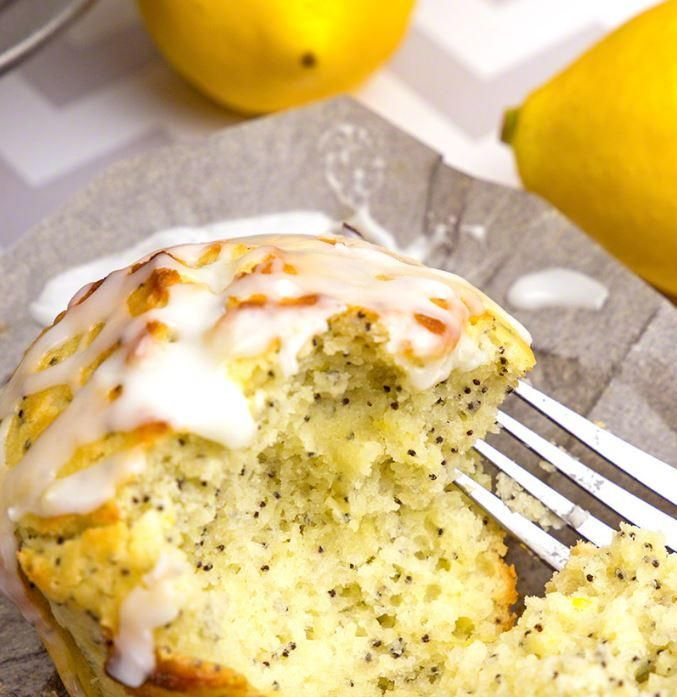 Lemon and poppy seed is a classic muffin flavor, but this recipe for Sour Cream Lemon Poppy Muffins adds an extra layer of moist, creamy goodness with the sour cream. These muffins have a bright and refreshing flavor that makes them perfect for the summer or for the winter when we all could use a little more sunshine. From breakfast to dessert, these lemon-filled muffins are a dessert that will put a smile on the faces of anyone who tastes one.