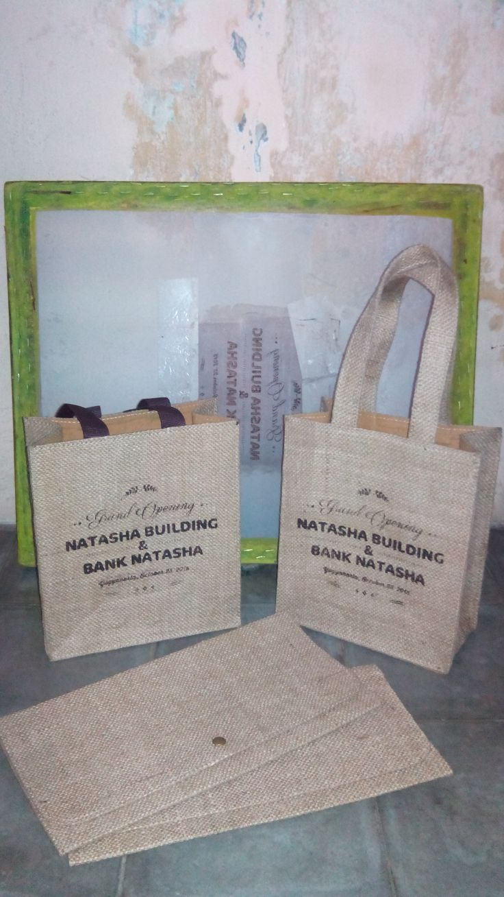 Goni goddie bag w/printing Goni envelope for Invitation