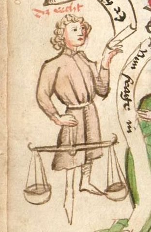 Thomasin : Der welsche Gast Schwaben, 3. Viertel 15. Jh. Cgm 571  Folio 28