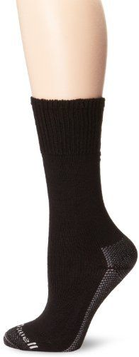 Sockwell Women's Big Easy Therapeutic Relaxed Socks, Black, Medium/Large by Sockwell. $18.69. Sockwell's seamless relaxed fit/diabetic socks provide an easy fit that protects and pampers sensitive feet. The socks are non-binding and have just the right amount of recovery to avoid bunching and shearing. The protective cushioning disperses pressure without adding bulk and tightness in the shoe. The ultra smooth toe closure ensures no seam abrasion to sensitive skin. Our sign...