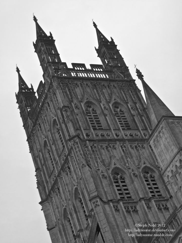 The Bell tower at Gloucester Cathedral