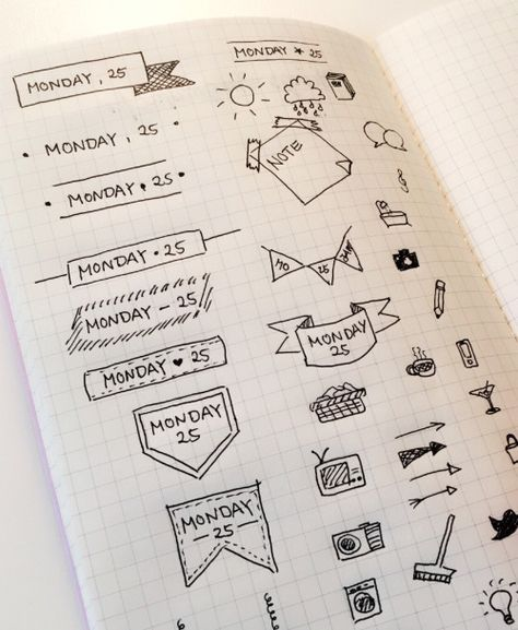 10 Bullet Journal Pins you might like
