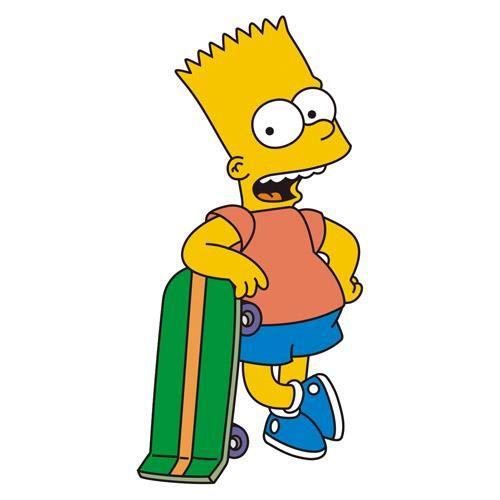 Барт симпсон в пиджаке