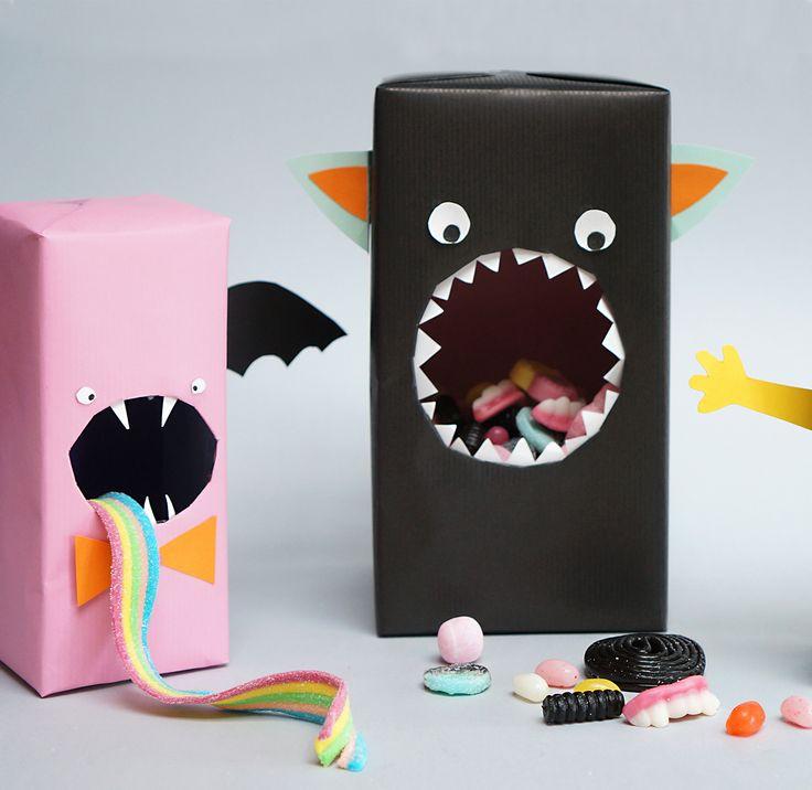 DIY - Godismonster | Candy monsters | Halloween | Studio Äppel Päppel