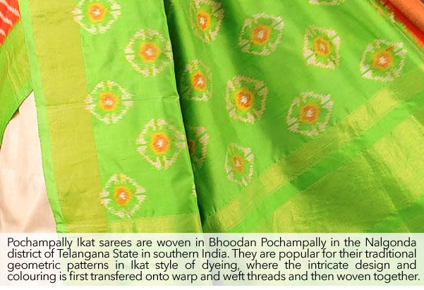 Buy Southern Splendor by Omnah Kanjivaram, Pochampally Ikat, Gadwal & Narayanpet Silk Sarees Online at Jaypore.com