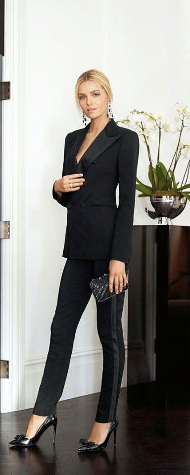 Modern tuxedo pant & jacket