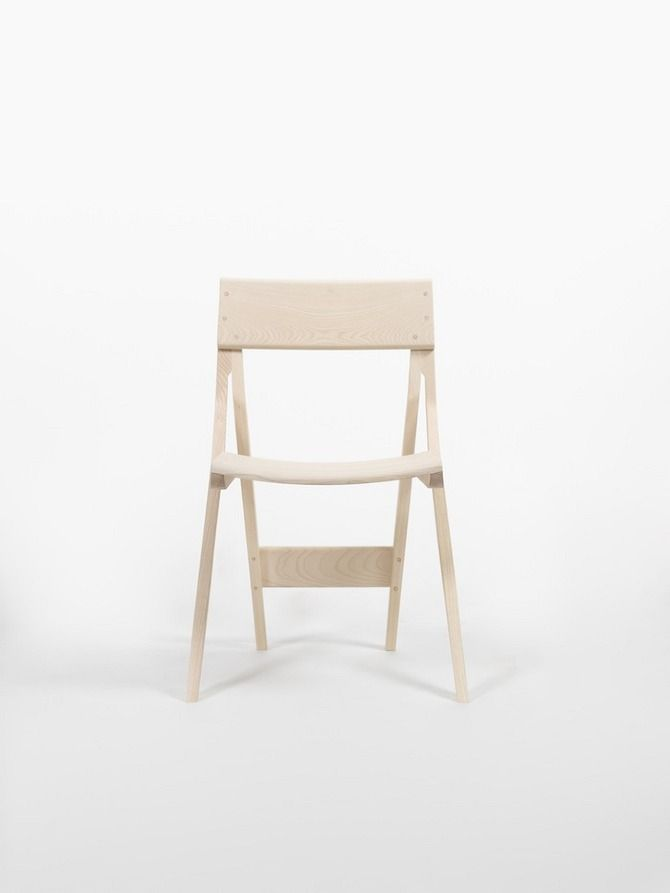 Just Wood Chair 2 by Florian Hauswirth #wood #chair #design