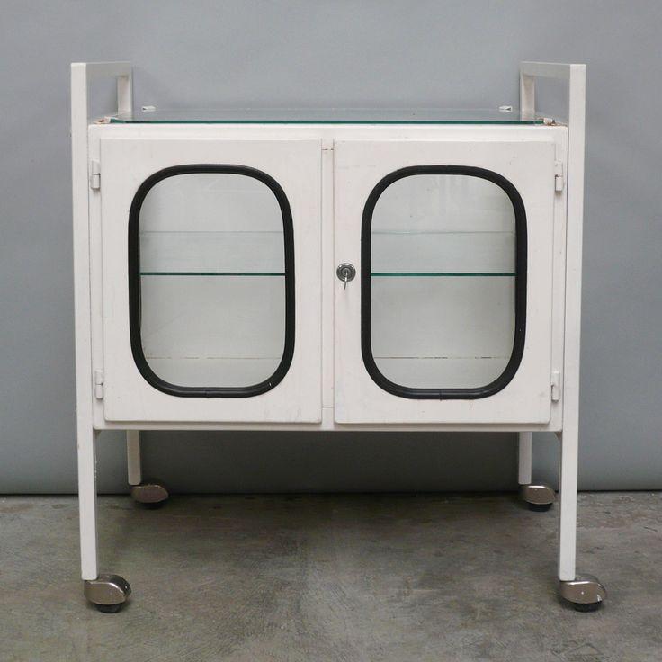 apothekerskast, trolley