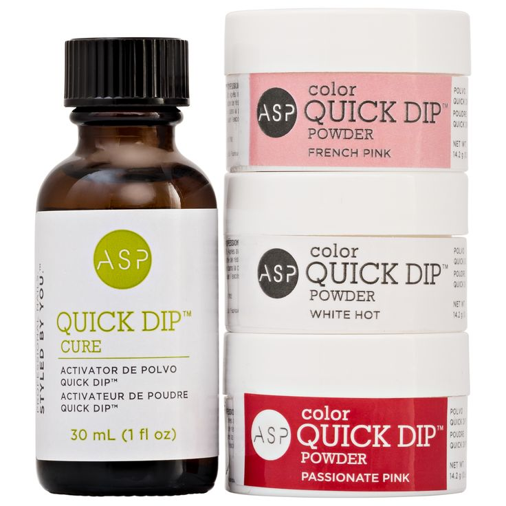 Nail Dip Powder Non Acrylic: Color Acrylic Quick Dip Kit