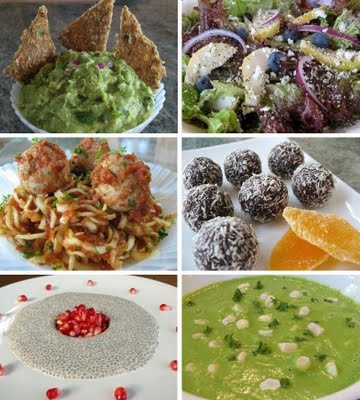 Foods For Long Life: Complete Raw Vegan Hanukkah, Christmas or New Years Menu