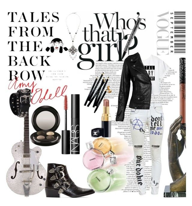 Street Style by tempestaartica on Polyvore featuring moda, VIPARO, Filles à papa, Toga, FAUSTO PUGLISI, Bobbi Brown Cosmetics, Rodin, NARS Cosmetics, Kat Von D and Chanel