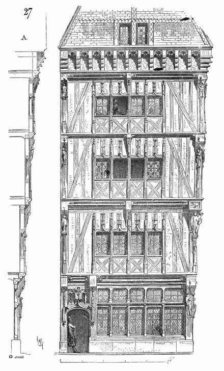 17 meilleures id es propos de dessins de b timents sur - Dessin de maison en bois ...