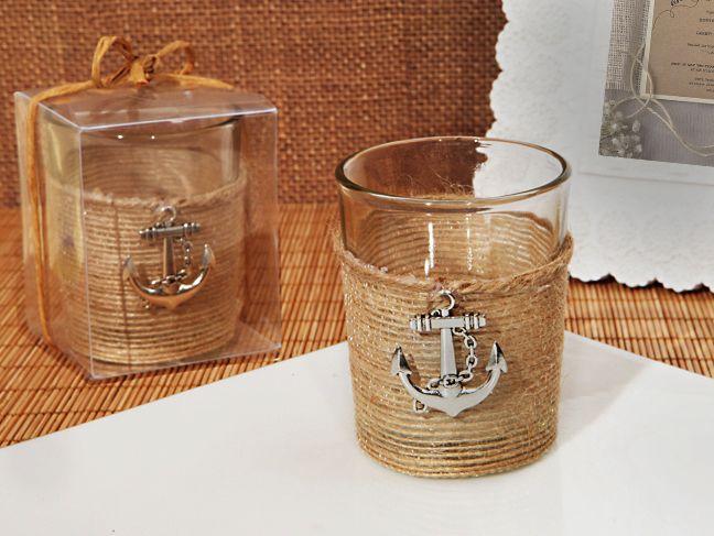Bottle Stopper Favor - Unique Rustic Nautical Candle Holder, $3.87 (http://www.bottlestopperfavor.com/unique-rustic-nautical-candle-holder/)