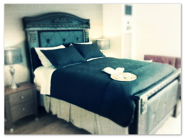 And piece number two that Andrew, from Canada Suites Reservation Team send: The royal bed