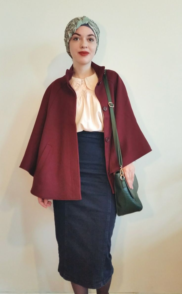 Vintagonista: vintage hijab, vintage modest, turban hijab, modcloth, vintage turban, retro, elegant