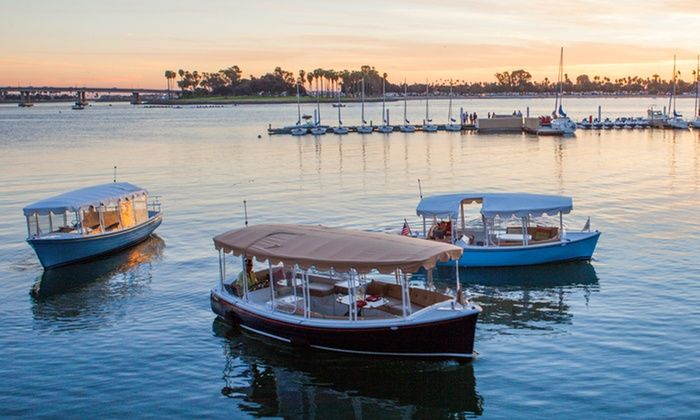 Duffy of San Diego - Duffy of San Diego: 90-Minute Electric Boat Rental from San Diego Electric Boat Company (Up to 31% Off). Two Options Available.