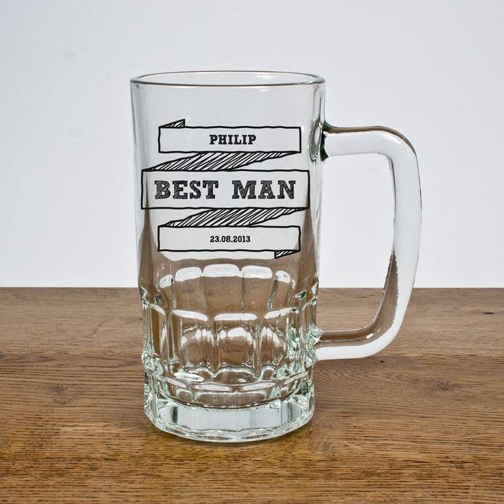 Gift Society   Personalised Comic Best Man Tankard