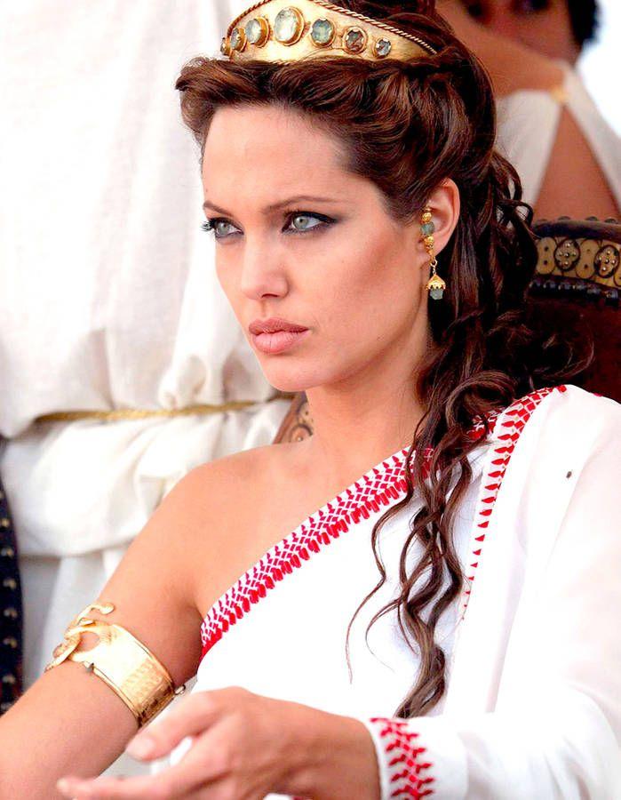 2004 Cléopâtre, Angelina jolie et Costumes grecs
