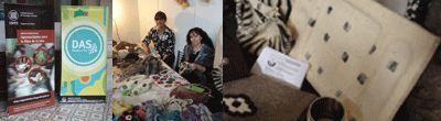 Feria DAS, espacio Sustentable   Objeto Fieltro Stella Grandi, seleccionada por el Inti para la Muestra de Diseño Sustentable organizada por el DAS ( Diseños al Sur ) en la Secretaria de Cultura de Quilmes