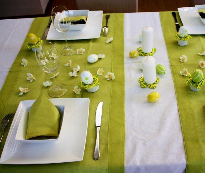 Décoration de Table pour Pâques : modèles de déco de table de paques - Decoration Table Paques