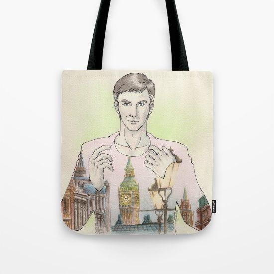 BAG @society6 #society6  shop  #manga #illustration #comic #bag #borsa #shop #london #oc #originalcharacter #painting