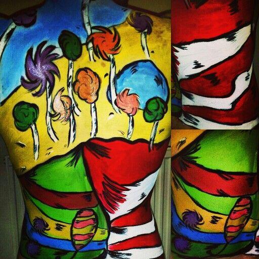 Dr seuss body paint