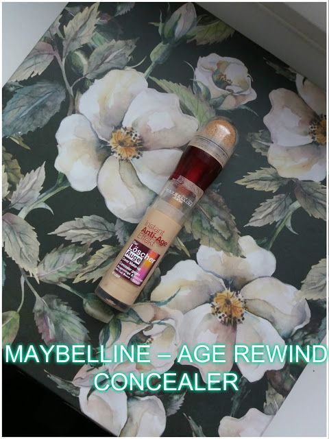 Beauty Tips for Her: Maybelline Age Rewind korrektor, worth the hype?