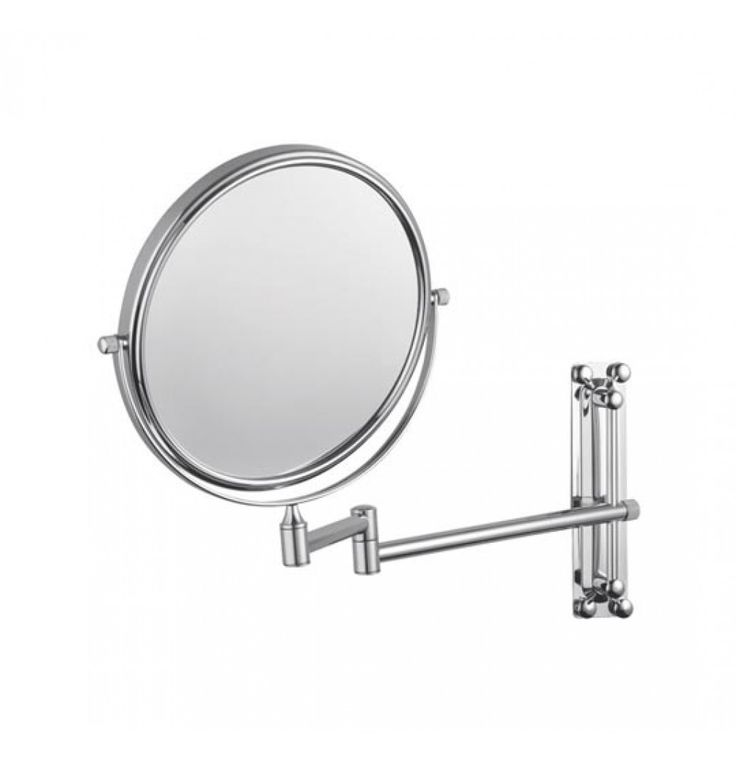 "Hindware Contessa Magnifying Glass (Size 8"") In Chrome (F880009)"