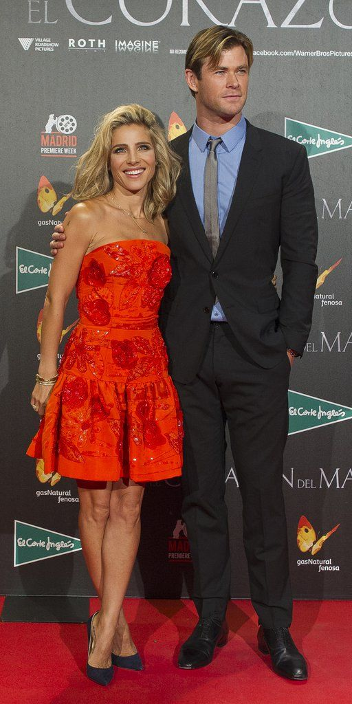 Chris Hemsworth and Elsa Pataky Are So Hot, It's Offensive