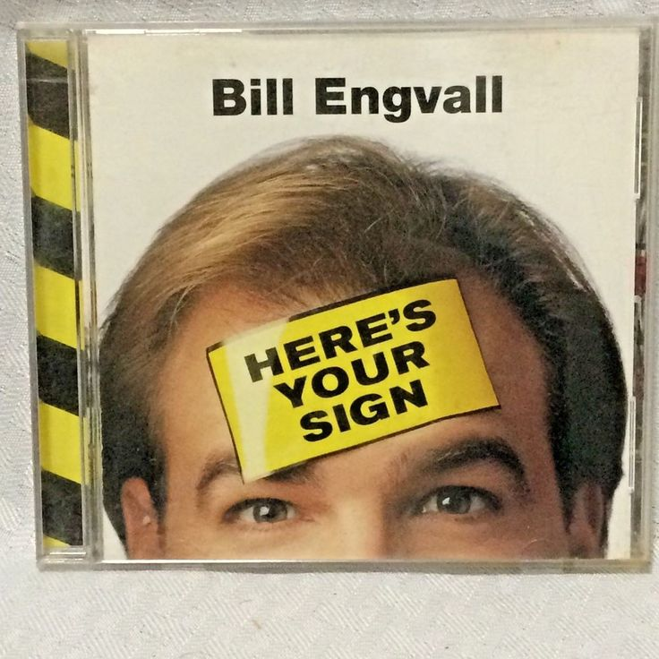 Bill Engvall Heres Your Sign Comedy CD