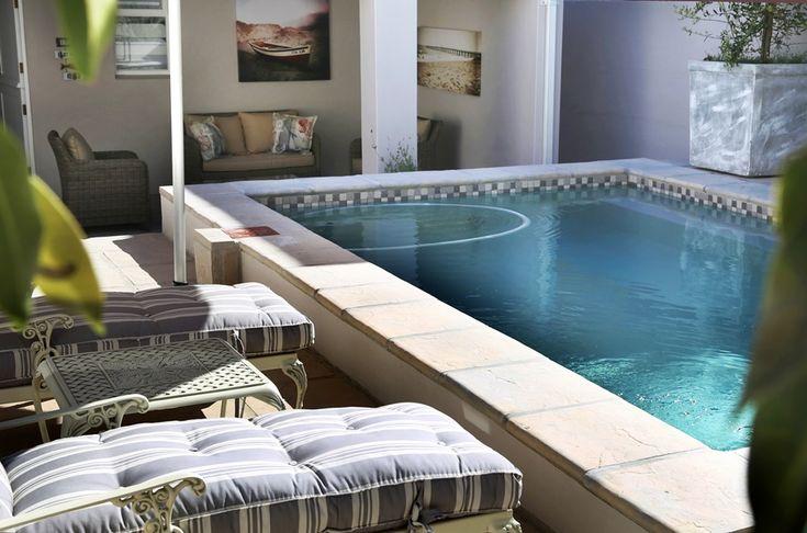 Seascapes: Private Pool.   FIREFLYvillas, Hermanus, 7200 @fireflyvillas , bookings@fireflyvillas.com #Seascapes  #FIREFLYvillas #HermanusAccommodation