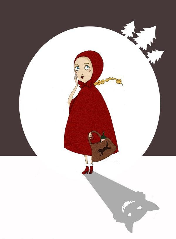 Pinzellades al món: Caputxeta Roja il·lustrada / Caperucita Roja ilustrada / Little Red Riding Hood illustrated / Le Petit Chaperon Roug illustré (13)