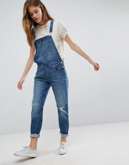 Denim Overall Outfits Tumblr | Www.pixshark.com - Images Galleries With A Bite!