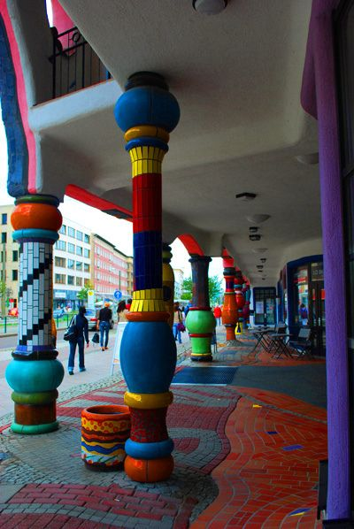 Hundertwasser Building I by cookie_jar, via Flickr