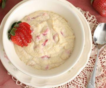 No'Oats Berry porridge