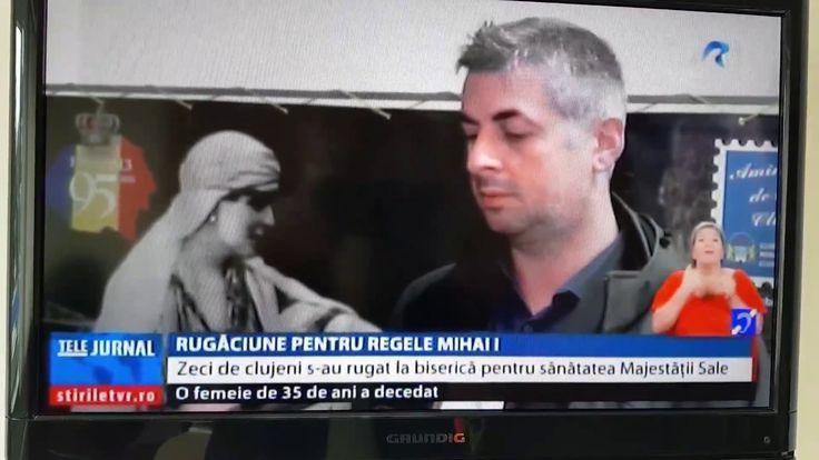 07.11.2017 Stirile TVR - CLUJ -  Rugaciuni pentru Regele Mihai - Greco C...